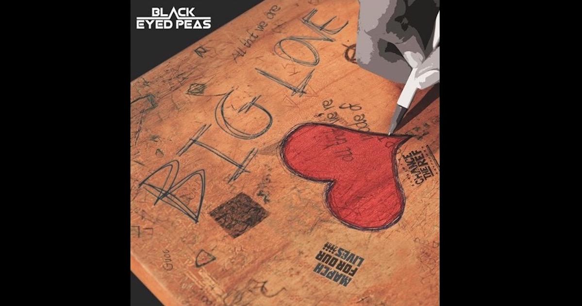 Black Eyed Peasが最新シングル「Big Love」をリリース。問題提議をしつつ、「愛」の重要性を語る楽曲