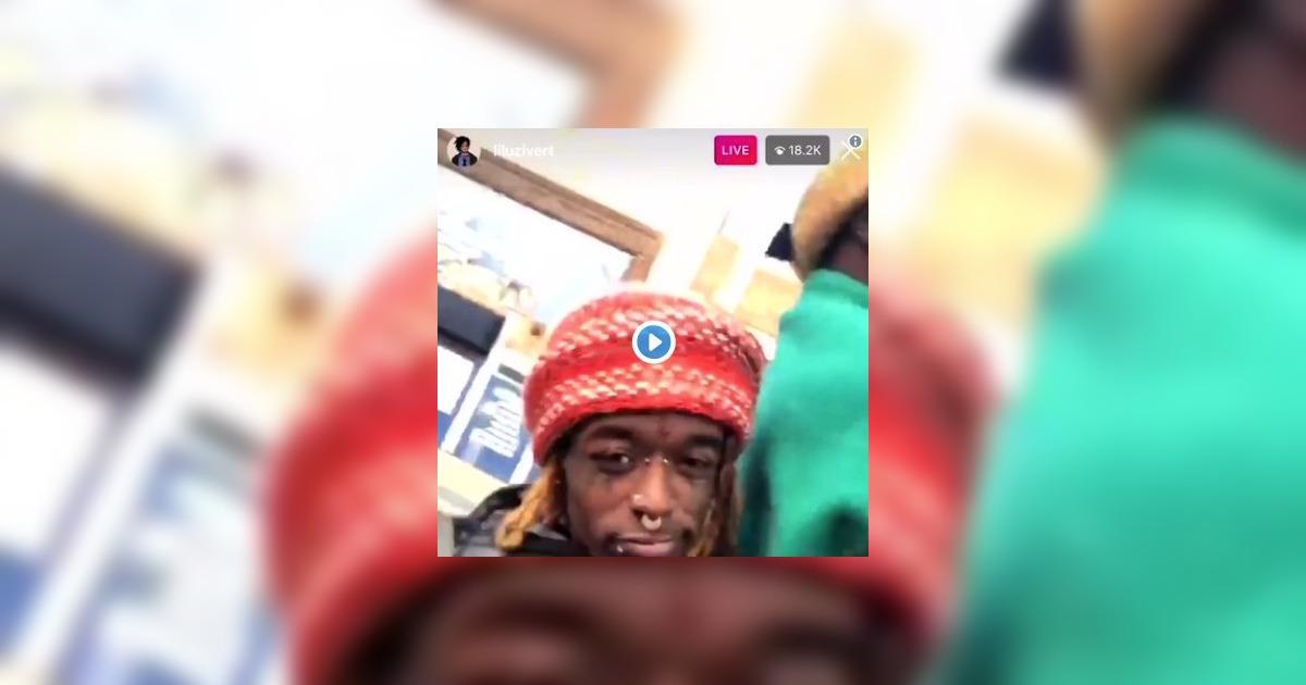 Lil Uzi Vertが、最新アルバム「Eternal Atake」のリリースが近いことを爆音の中でアナウンスする