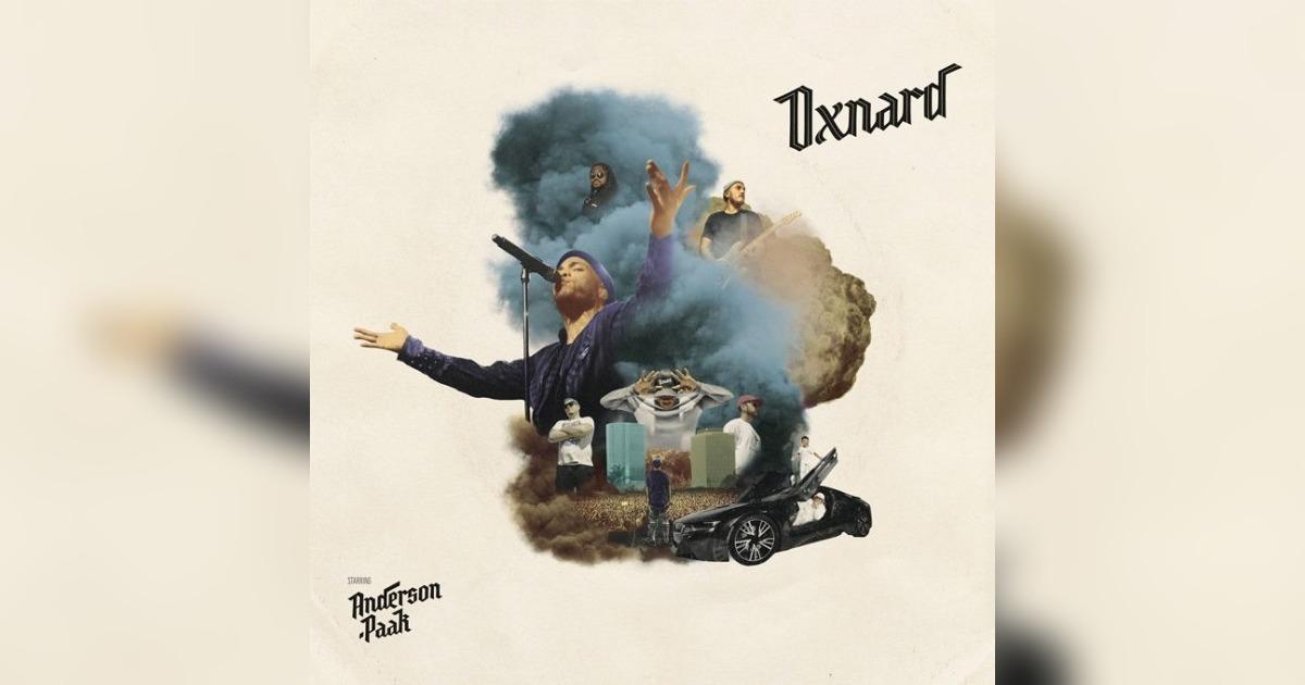 アンダーソン・パーク待望の新アルバム「Oxnard」がリリースされる。プロダクション・クレジットとストリーミングはこちら