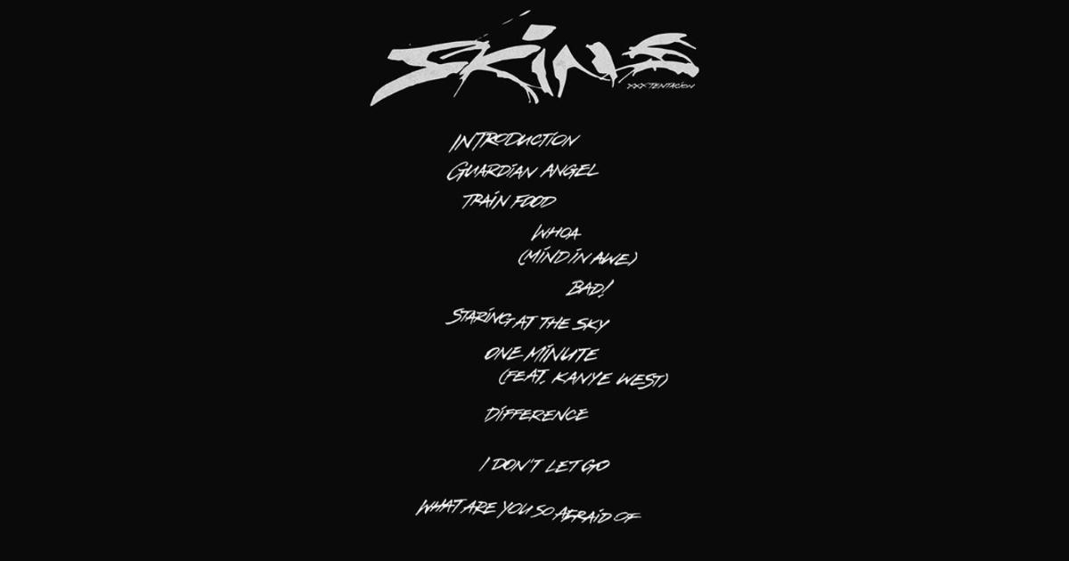 故XXXTentacionの新アルバム「Skins」にカニエ・ウエストがフィーチャーされていることが明らかになる
