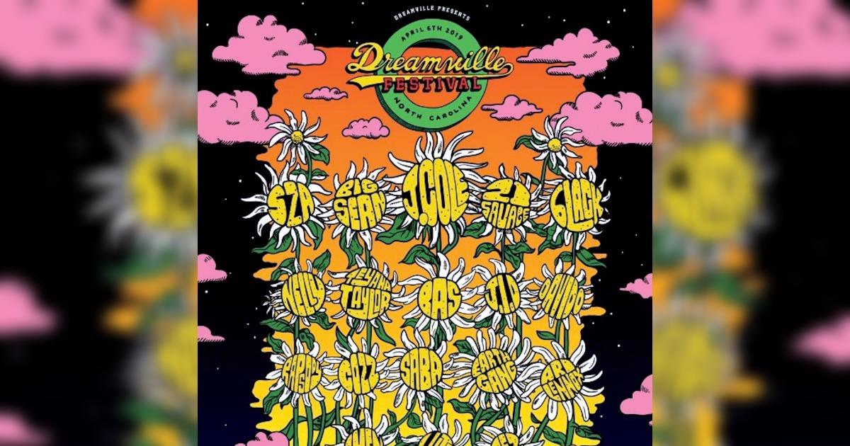 J. Coleのレーベルが「Dreamville Fest 2019」の開催を発表。21 SavageやSZAなどの豪華出演アーティストをチェック