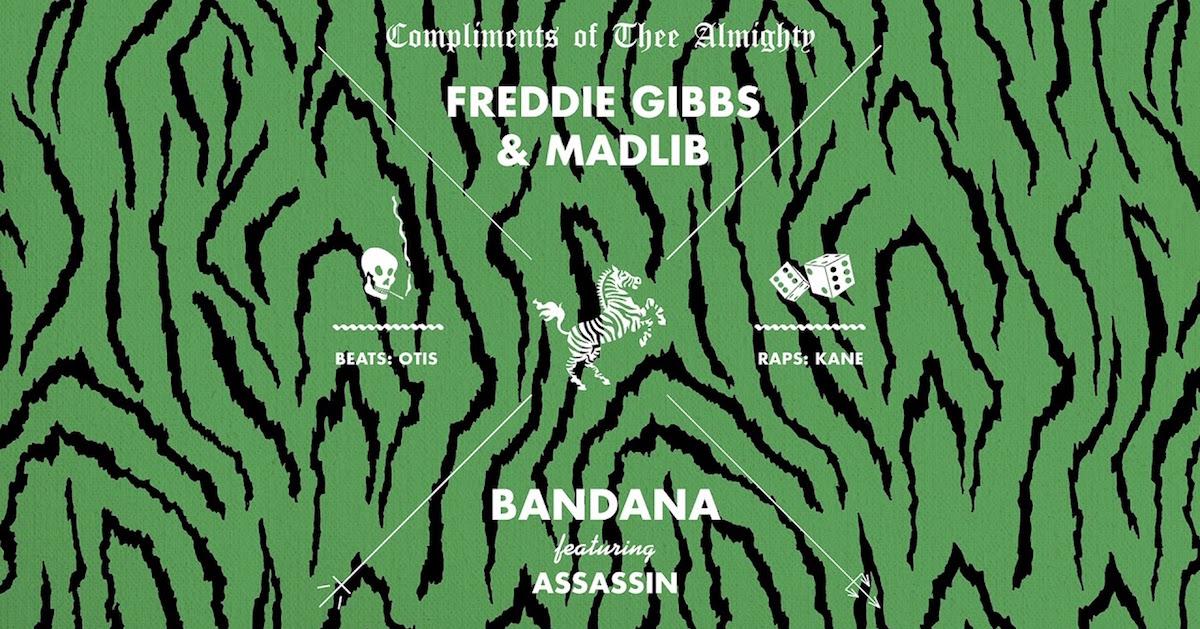 Freddie GibbsとMadlibのアルバム「Bandana」にAnderson .Paak、Pusha T、Killer Mike、Mos Def、Black Thoughtなどのアーティストが参加決定