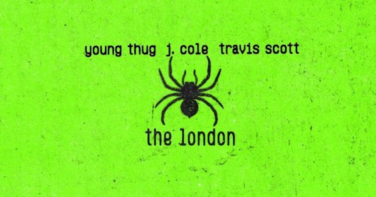 Young Thug、J. Cole、Travis Scottのコラボ曲「The London」がリリースされる。
