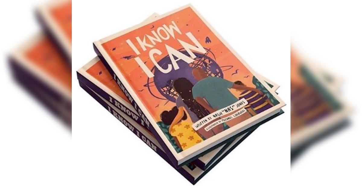 Nasが児童向けの本「I Know I Can」を執筆。子供向けブランドも発表