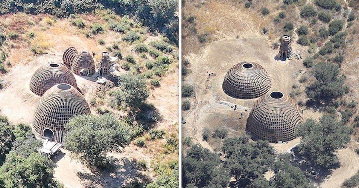 Kanye West(カニエ・ウェスト)が自宅に「ドーム状」の建物を建設し、近隣住民に警察を呼ばれる