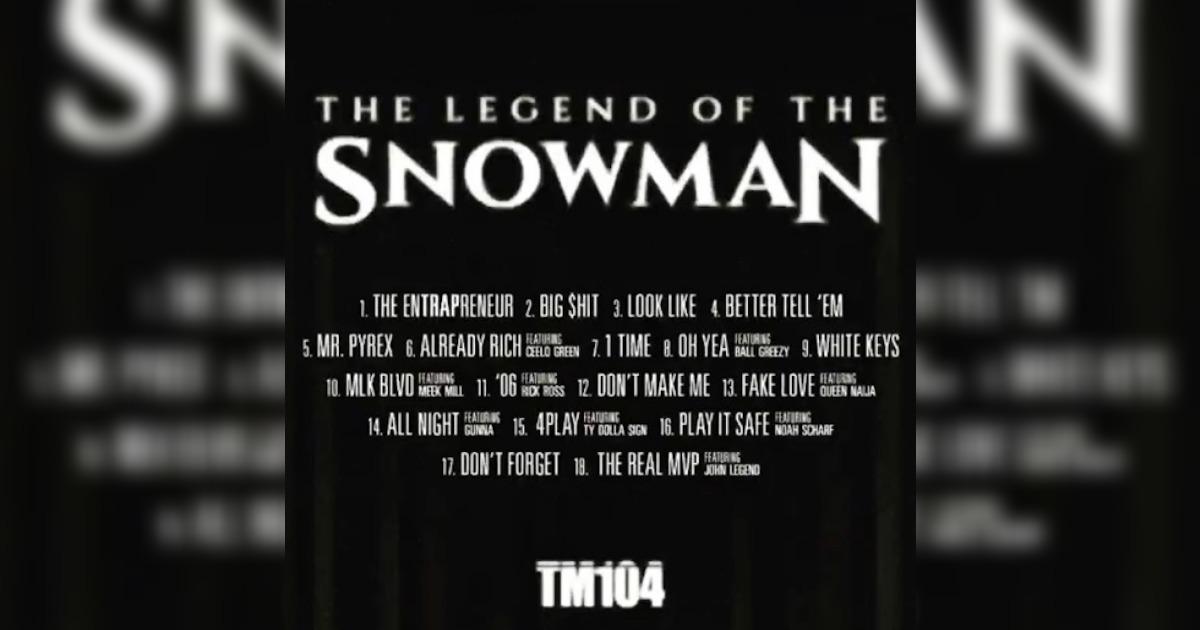 Jeezyが自身の最終アルバムとなる作品「TM 104」のトラックリストを公開。Rick Ross、Cee Lo Green、Meek Millなどが参加