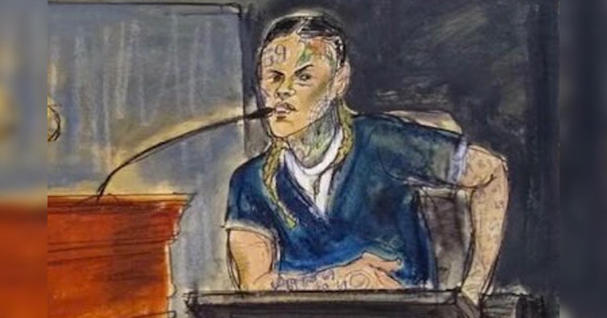Tekashi 6ix9ine(テカシ・シックスナイン)が証人として裁判に出廷。Trippie Reddがギャングに属していることなどを暴露する。