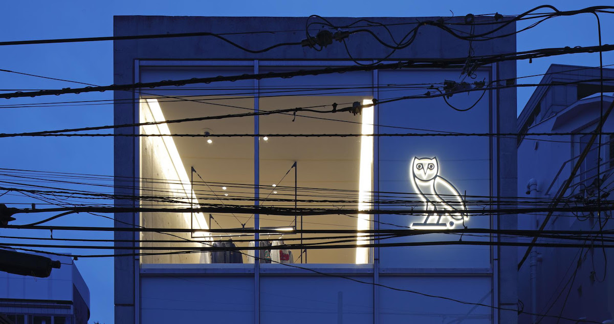 ドレイクが手がけるトロント発のライフスタイルブランドOVOが初上陸。東京・北青山に旗艦店をオープン