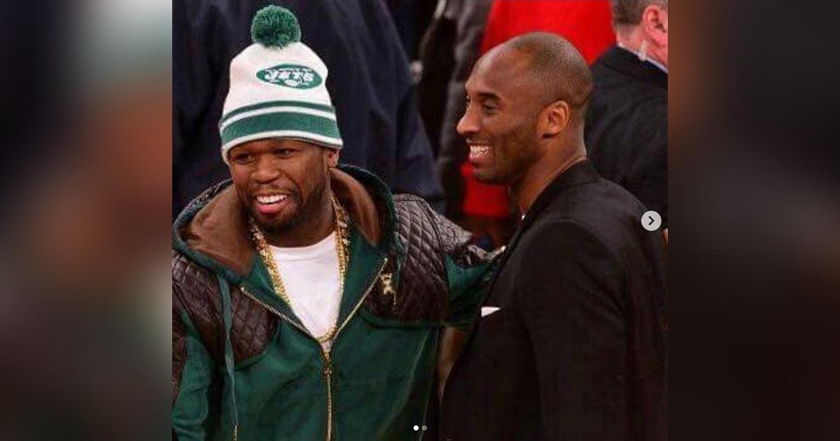 Kobe Bryant(コービー・ブライアント)氏の死を受け、50セントがもうビーフはしないと宣言