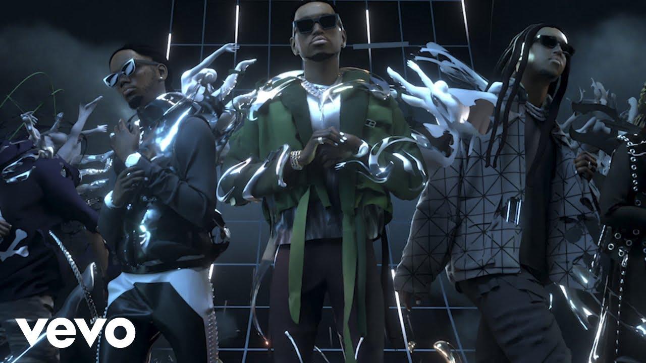 Migos、Young Thug、Travis Scottがコラボ曲「Give No Fxk」のMVを公開
