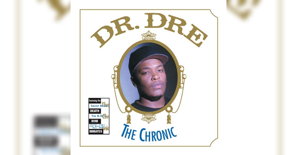 Dr. Dreのデビュー・アルバム「The Chronic」がアメリカの国家保存重要録音制度に登録される