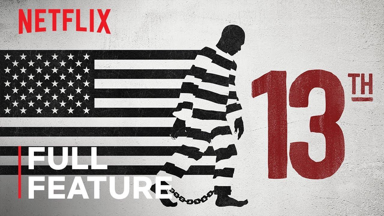 【日本語字幕あり】米国の人種差別、法と政治、大量投獄の歴史に踏み込んだNetflixドキュメンタリー『13th』がYouTubeで無料公開。