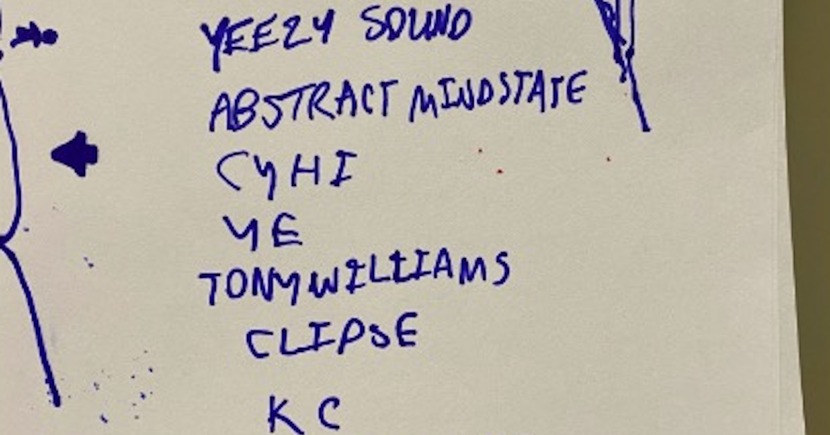 カニエ・ウェストが未だ謎に包まれた「Yeezy Sound」のメンバー案を発表