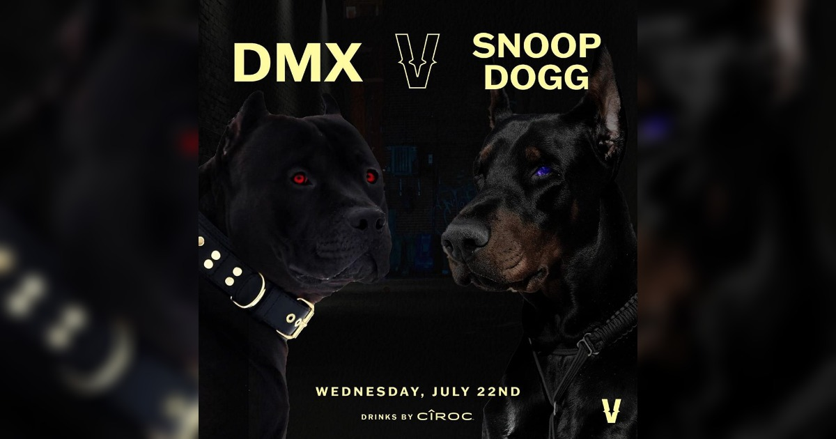 DMXとSnoop Doggがインスタバトル企画「Verzuz」に出演決定。「ドッグズの戦い」と告知される