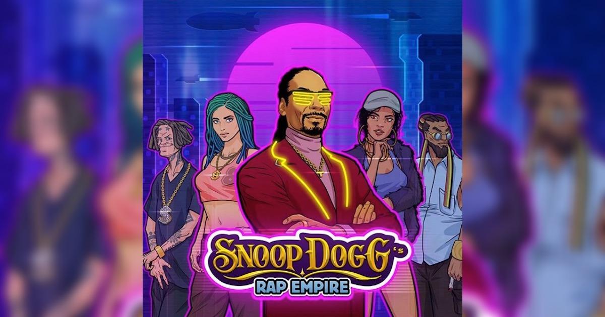 スヌープ・ドッグのモバイルゲーム「Snoop Dogg's Rap Empire」が登場。「ラッパーとしてのし上がっていくシミュレーションゲーム」