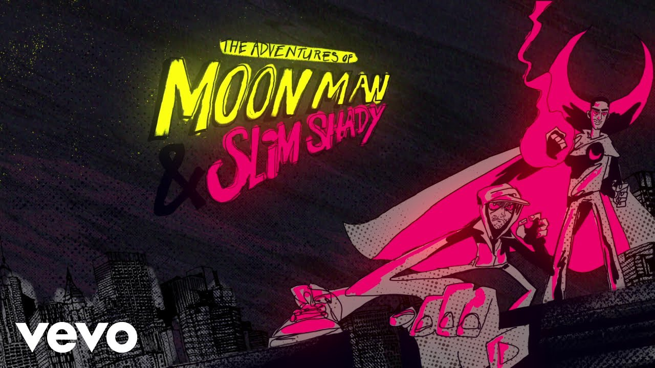 Kid Cudiがエミネムとのコラボ曲「The Adventures of Moon Man and Slim Shady」をリリース