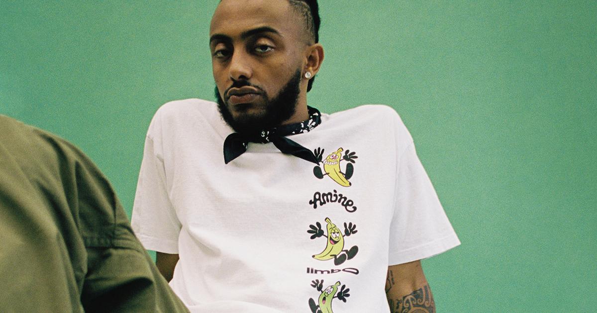 Aminé(アミーネ)× VERDYによるコラボアイテムが発売される。新アルバム「Limbo」のリリースを記念。