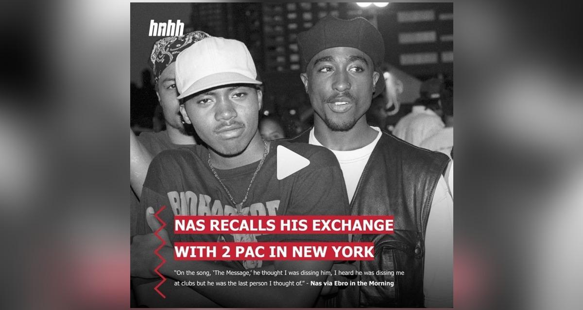 Nasが2Pacとのビーフについて語る。2Pacとの最後の会話の内容とは?