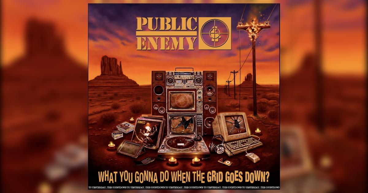 Public Enemy(パブリック・エネミー)が新アルバム「What You Gonna Do When The Grid Goes Down?」をリリース。20年以上ぶりにデフ・ジャムからのリリースとなる。