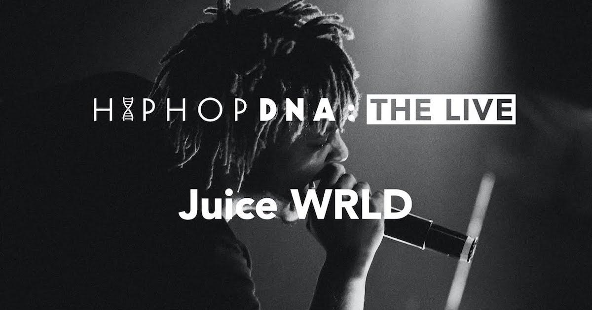 ジュース・ワールド、初来日公演の映像が一夜限り公開されることが決定。HIP HOP DNA主催イベントに出演した際の映像を11/3(祝・火)にプレミア公開。