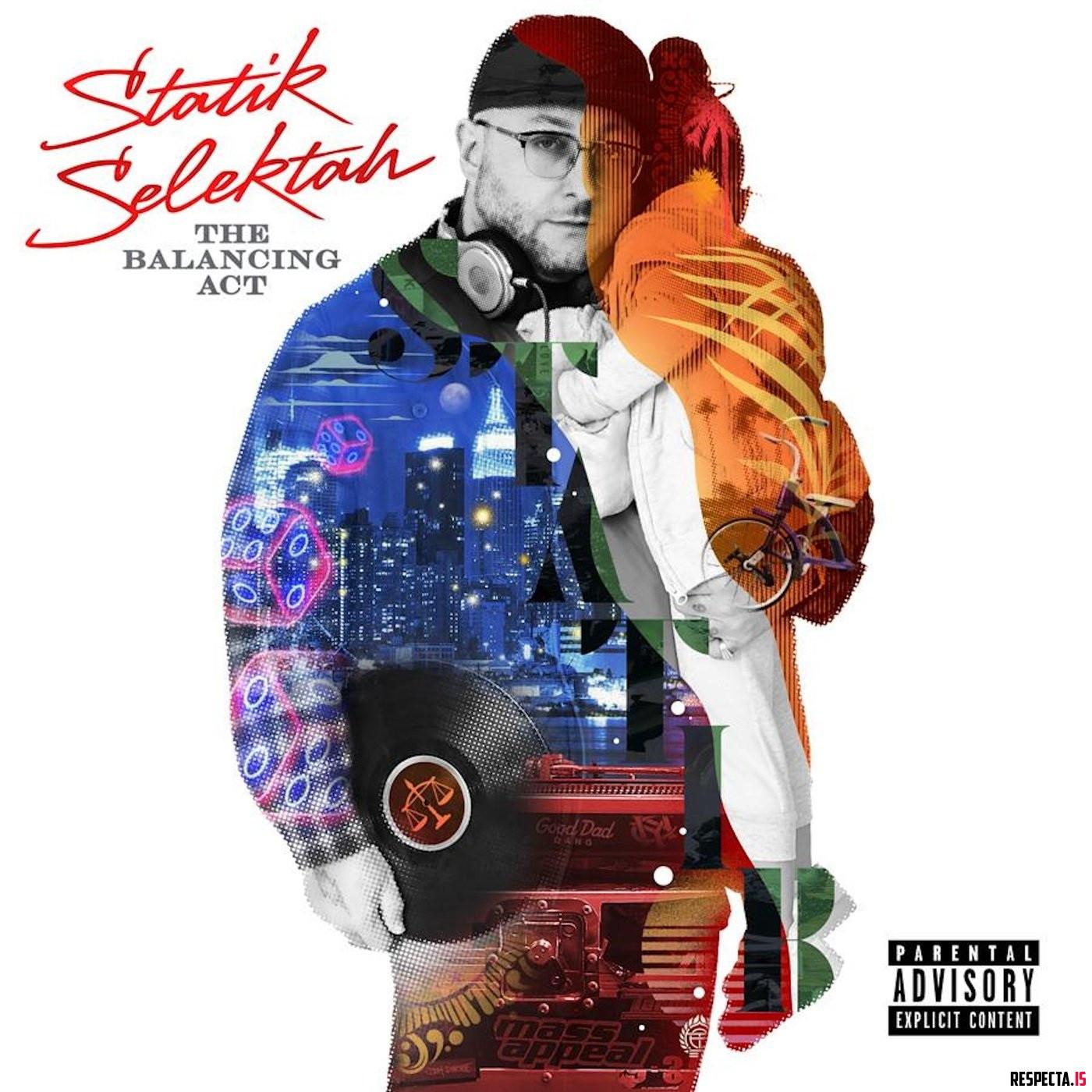 凄腕プロデューサーStatik Selektahが新アルバム「The Balancing Act」をリリース。Nas、ジョーイ・バッドアス、ブラック・ソート、キラー・マイク、ジェイダキスなどが参加