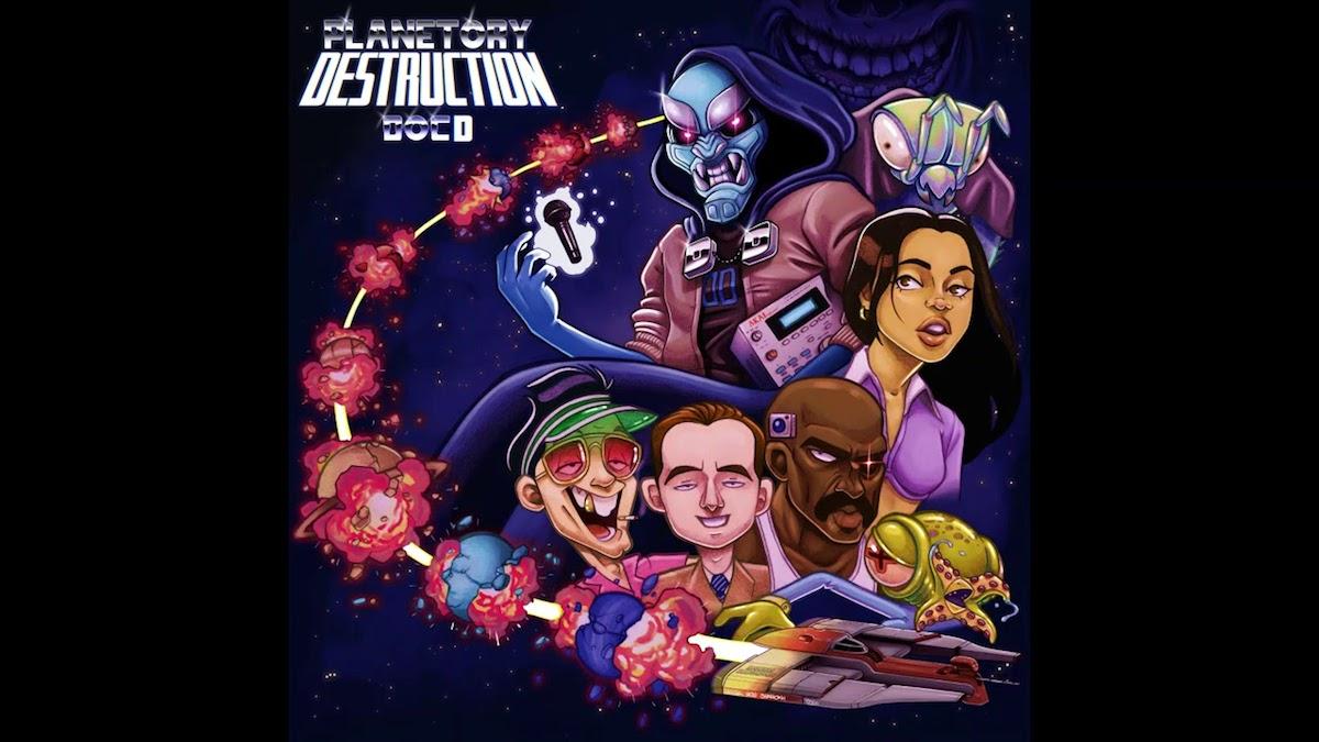 ロジックのレーベルから「ドクター・ディストラクション」という覆面ラッパーがデビュー。引退したロジックの別名説が浮上。